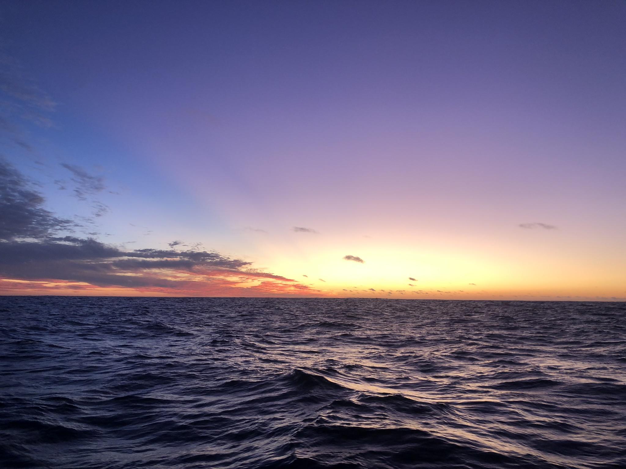 Gedachtes op de oceaan